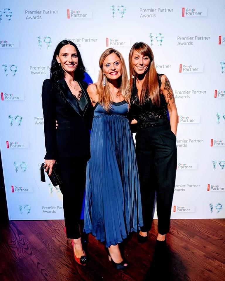 Olga Kuznetsova - Ragooo (sx); Licia Del Greco - Manager Google (cen) ; Valentina Tiengo (dx)